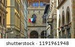 italian architecture. old town. ... | Shutterstock . vector #1191961948