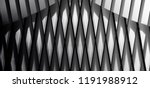 lath structure of wall  roof or ... | Shutterstock . vector #1191988912