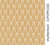 seamless art deco vector... | Shutterstock .eps vector #1191991102