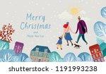 vector illustration of a happy ... | Shutterstock .eps vector #1191993238