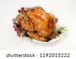 thanksgiving pepper roasted...   Shutterstock . vector #1192015222