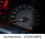 modern power gauge speed meter... | Shutterstock . vector #1192023892