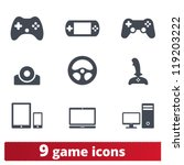 Game Icons  Vector Set Of...