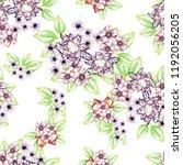 abstract elegance seamless... | Shutterstock .eps vector #1192056205