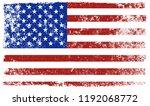 american grunge flag.grunge... | Shutterstock .eps vector #1192068772