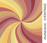 retro starburst or sunburst...   Shutterstock .eps vector #1192070632