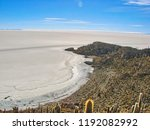 bolivia  salar de uyuni scenic...   Shutterstock . vector #1192082992