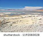 bolivia  salar de uyuni  aguas...   Shutterstock . vector #1192083028