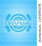 offspring light blue water... | Shutterstock .eps vector #1192093378