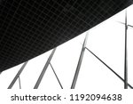 structural glass wall and drop... | Shutterstock . vector #1192094638
