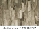 fragment of parquet floor.  | Shutterstock . vector #1192100722