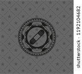 bandage plaster icon inside... | Shutterstock .eps vector #1192104682