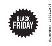 black friday flash | Shutterstock .eps vector #1192112605