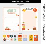 set of planners and to do lists ... | Shutterstock .eps vector #1192128382
