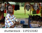 african small business curio... | Shutterstock . vector #119213182
