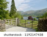 View Over Grasmere To Helvelly...