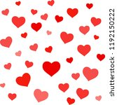 valentines day greeting card or ... | Shutterstock .eps vector #1192150222