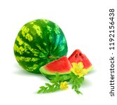 fresh  nutritious and tasty... | Shutterstock .eps vector #1192156438