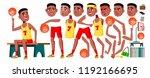 teen boy vector. animation...   Shutterstock .eps vector #1192166695