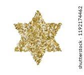 3d golden star vector banner.... | Shutterstock .eps vector #1192174462