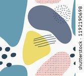 abstract brushstroke background ... | Shutterstock .eps vector #1192190698