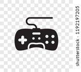 game controller vector icon... | Shutterstock .eps vector #1192197205
