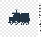 childhood vector icon isolated...   Shutterstock .eps vector #1192203238
