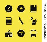 school icon. school vector... | Shutterstock .eps vector #1192206352