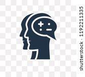 idea vector icon isolated on... | Shutterstock .eps vector #1192211335