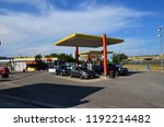 a3 highway  italy   august 4... | Shutterstock . vector #1192214482