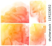 set of three banners  abstract... | Shutterstock . vector #119223052