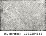 grunge texture black and white. ... | Shutterstock . vector #1192254868