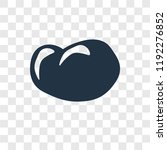 potatoes vector icon isolated... | Shutterstock .eps vector #1192276852