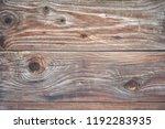 wooden background. old rustic...   Shutterstock . vector #1192283935