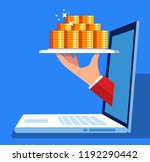 online financial services | Shutterstock .eps vector #1192290442