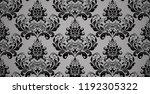 floral pattern. vintage... | Shutterstock .eps vector #1192305322