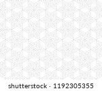 the geometric pattern with... | Shutterstock .eps vector #1192305355