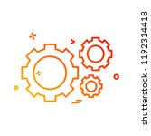 hardware tools icon design... | Shutterstock .eps vector #1192314418
