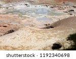 fountain paint pot background   ...   Shutterstock . vector #1192340698