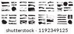 korean  chinese  japanese ink... | Shutterstock .eps vector #1192349125