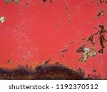 abstract old rusty metal... | Shutterstock . vector #1192370512