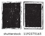 vector grunge frame.grunge... | Shutterstock .eps vector #1192375165