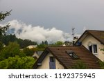 house of the mountains in the...   Shutterstock . vector #1192375945