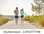 fitness  sport and lifestyle... | Shutterstock . vector #1192377748