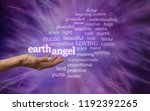 for every earth angel   in... | Shutterstock . vector #1192392265
