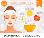 express means for acne.... | Shutterstock .eps vector #1192396792