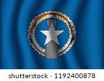 flag of northern mariana island.... | Shutterstock .eps vector #1192400878