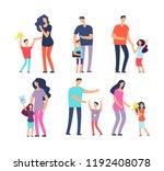 well studied kids. excellent... | Shutterstock .eps vector #1192408078