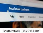 sankt petersburg  russia ... | Shutterstock . vector #1192411585