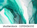 ink  paint  abstract. closeup... | Shutterstock . vector #1192426132